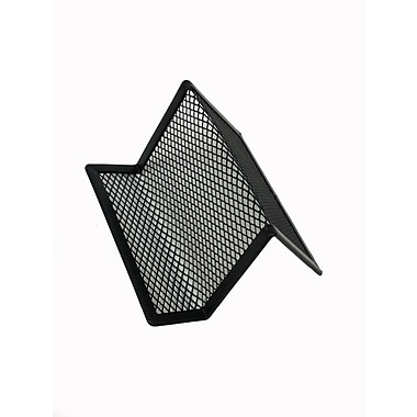 Buddy Products® Mesh Business Card Holder, Black