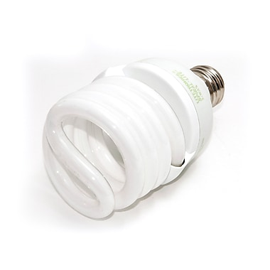 Liteco™ 12/22/33 Watt 120 Volt Spiral 3-Way CFL Bulbs, Warm White