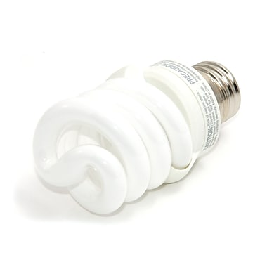 TCP SpringLamp® 13 Watt 120 Volt Spiral CFL Bulbs, Bright White