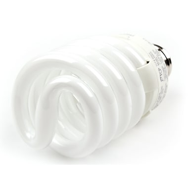 TCP SpringLamp® 23 Watt 120 Volt Spiral CFL Bulbs, Warm White