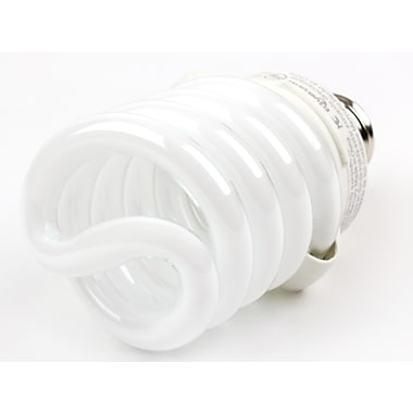 TCP SpringLamp® 23 Watt 120 Volt Spiral CFL Bulbs, Daylight White
