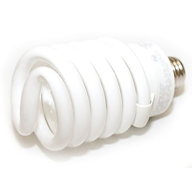 TCP SpringLamp® 142 Watt 120 Volt Spiral High Lumen CFL Bulbs, Warm White
