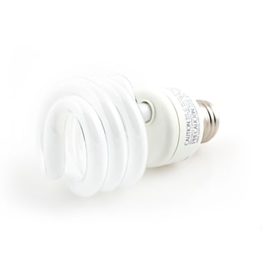 TCP SpringLight™ SpringLamps® 19 Watt 120 Volt Spiral CFL Bulbs, Daylight White