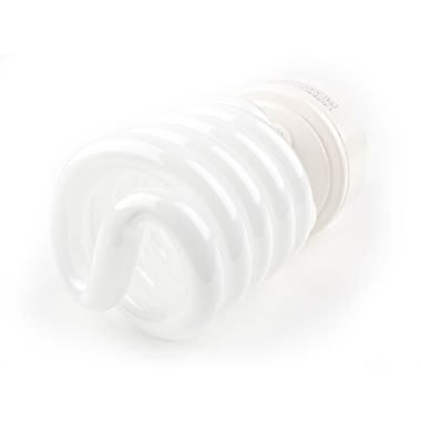 TCP SpringLamp® 142 Watt 120 Volt Spiral CFL Bulbs, Cool White