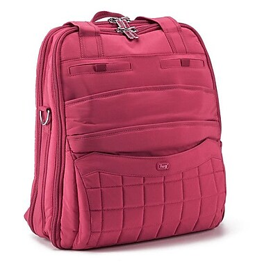 Lug Sprout Carry-All Backpack; Rose Pink