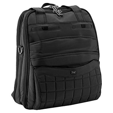Lug Sprout Carry-All Backpack; Midnight Black