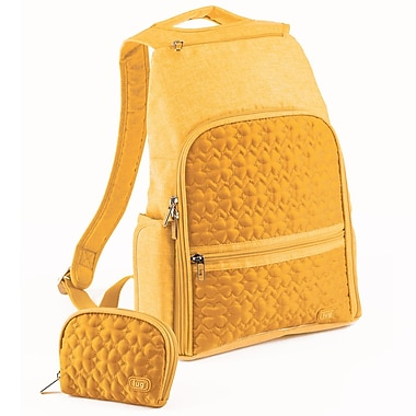 Lug Dodger Mini Backpack; Marigold Yellow