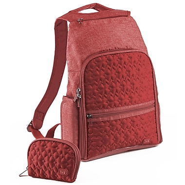 Lug Dodger Mini Backpack; Crimson Red