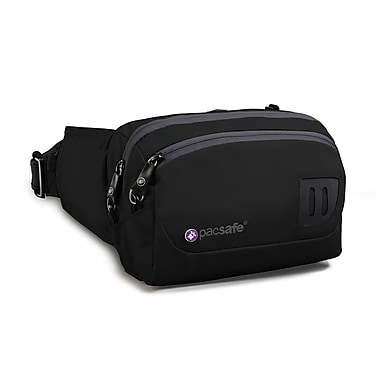 Pacsafe VentureSafe 100 Hip Pack; Black