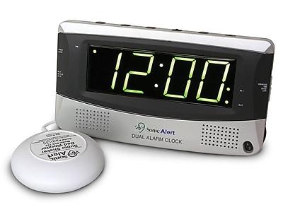 Sonic Alert Sonic Boom Dual Alarm Vibrating Clock WYF078276561149