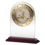Howard Miller World Time Arch  Quartz Table Clock
