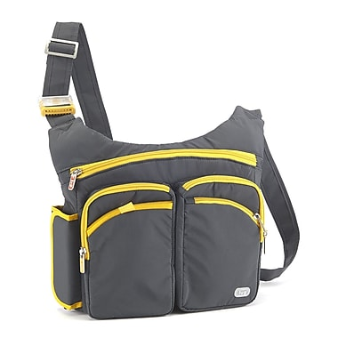 Lug Orange Label Shortstop Excursion Pack; Fog Gray