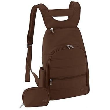Lug Parachute Mini Backpack; Chocolate Brown