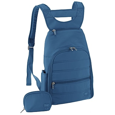 Lug Parachute Mini Backpack; Ocean Blue