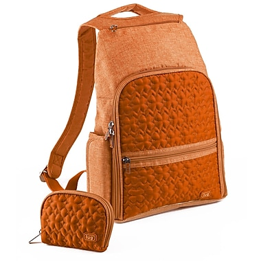 Lug Dodger Mini Backpack; Sunset Orange