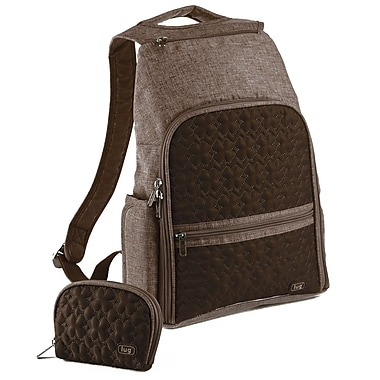 Lug Dodger Mini Backpack; Chocolate Brown