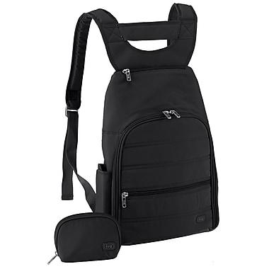 Lug Parachute Mini Backpack; Midnight Black