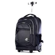 Olympia Gen-X 19'' Rolling Backpack; Black