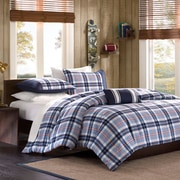 Mi-Zone Elliot Plaid Comforter Set; Twin / Twin XL