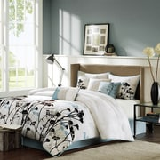 Madison Park Matilda 7 Piece Comforter Set; California King