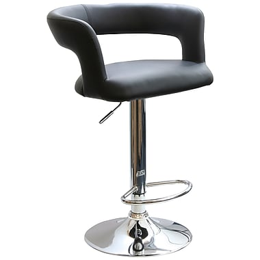 Buffalo Tools AmeriHome 24'' Adjustable Swivel Bar Stool with Cushion