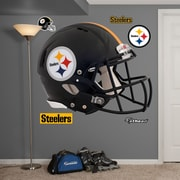 Fathead NFL Revolution Helmet Wall Decal; Pittsburgh Steelers