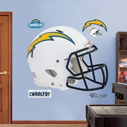 Fathead NFL Revolution Helmet Wall Decal; San Diego Chargers