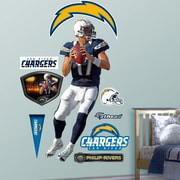 Fathead NFL Wall Decal; San Diego Chargers - Rivers