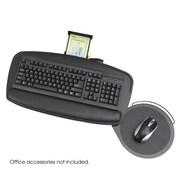 Safco Products Premier Series Keyboard Platforms; Black