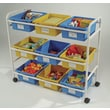 Copernicus 36.5'' Multi-Purpose Cart; Blue/Yellow