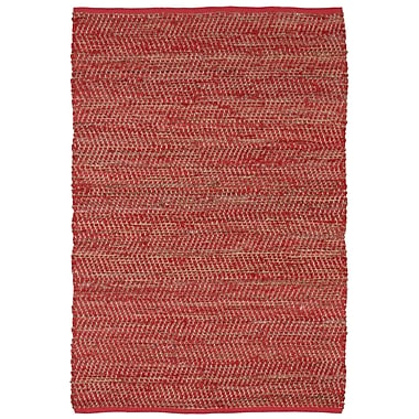 St. Croix Earth First Red Area Rug; 9' x 12'