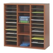 Safco Products Apres Modular Storage Literature Organizer; Cherry
