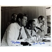 Steiner Sports Curt Gowdy and Tony Kubek In the Booth Autographed Photograph