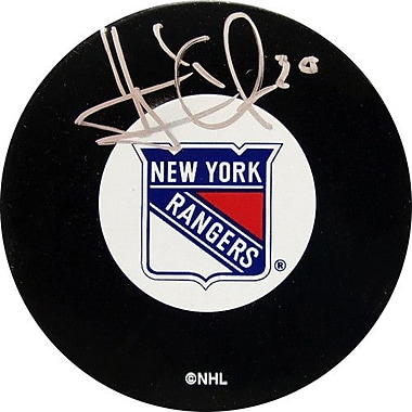 Steiner Sports NHL Henrik Lundqvist Autographed New York Rangers Puck