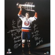 Steiner Sports NHL Dennis Potvin with Stanley Cup in the Dark 16 Signature photograph