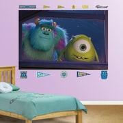 Fathead Disney Monsters University Window Wall Mural