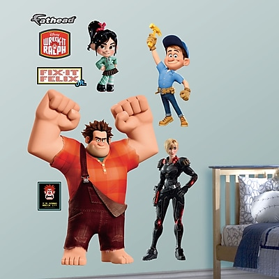 Fathead Disney Wreck It Ralph Wall Decal WYF078276137223