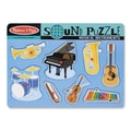 Melissa and Doug Musical Instruments Sound Puzzle