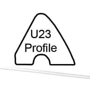 Cuestix 8 Feet Table Cushion U-23 Profile