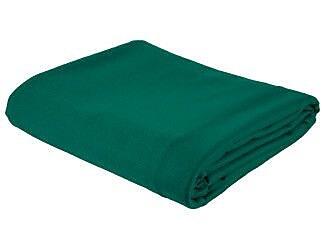 Cuestix 10' Cut Championship Invitational Table Cloth; Basic Green WYF078275892897