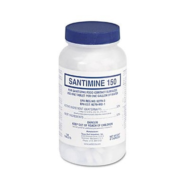 SANTIMINE 150 Quaternary Sanitizer Tablets