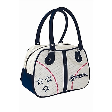 Concept One MLB Products Ethel Tote Bag; Milwaukee Brewers