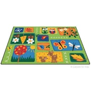 Carpets for Kids Printed Nature's Toddler Area Rug; 6' x 9'