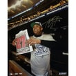 Steiner Sports MLB CC Sabathia in Dugout with New York Post 27 Vertical Photograph