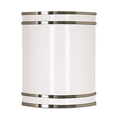 Nuvo Lighting Portia 1 Light Wall Sconce; Brushed Nickel