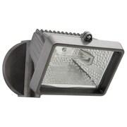 Lithonia Lighting Security Flood Light; Bronze