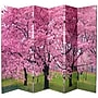 Oriental Furniture 70.88'' x 94.5'' Double Sided Cherry