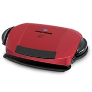 George Foreman Removable Plate Grill; Red