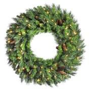 Vickerman Cheyenne Pine Wreath; 24''