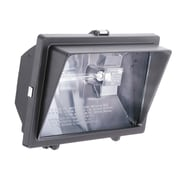 Lithonia Lighting Security 1 Light Flood Light; Bronze